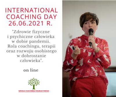KONFERENCJA International Coaching Day 2021